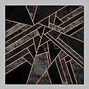 halpa Kehystetty taide-Hang-Painted öljymaalaus Maalattu - Abstrakti Moderni Sisällytä Inner Frame / Venytetty kangas