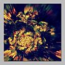 tanie Wydruki-Wydrukować Wydruki na rozciągniętym płótnie - Fantazyjne / Kwiatowy / Roślinny Nowoczesny