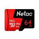 tanie Słuchawki i zestawy słuchawkowe-Netac 64 GB Micro SD TF karta karta pamięci UHS-I U3 / V30 64