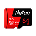 billige Minnekort-Netac 64GB Micro SD-kort TF kort minnekort UHS-I U3 / V30 64