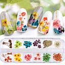 voordelige Watertransfer nagelstickers-1 pcs Kleurrijk Nagelsieraden Voor Nagel kunst Manicure pedicure Stijlvol / Kynsien korut