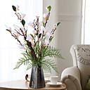 رخيصةأون زهور اصطناعية-زهور اصطناعية 1 فرع كلاسيكي أنيق الأوركيد / السحلبية أزهار الطاولة