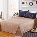 preiswerte Bettbezüge Sets & Kissenbezüge-Betttuch - Polyester / Baumwolle Reaktivdruck Druck 1 Stk. Betttuch