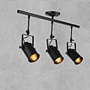 billige Spotlys-3-Light spotlight Ned Lys Malede finish Metal 110-120V / 220-240V Pære ikke Inkluderet