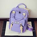 povoljno High School Bags-Žene Torbe Platno Školska torba Uzorak / print Blushing Pink / Crvena / Svjetlo ljubičasta