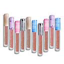 billige Lipgloss-Leppepomade Lip Gloss 12 pcs Mineral Vanntett / Bærbar / Fuktighetsgivende Mineral / Lett å bære Mote Sminke kosmetisk Dagligdagstøy Pleieutstyr