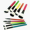cheap Makeup Brush Sets-10pcs Makeup Brushes Professional Makeup Brush Set Artificial Fibre Brush / Nylon Brush / Other Brush Eco-friendly / Professional / Soft Wooden / Bamboo