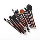 baratos Artigos para Cílios-19pçs Pincéis de maquiagem Profissional Cuidados Com a Pele Lã / Fibra Cobertura Total De madeira / bambu