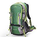 رخيصةأون حقائب الظهر والحقائب المتنوعة-45 L حقائب ظهر - التنفس إمكانية في الهواء الطلق المشي لمسافات طويلة, تخييم, السفر برتقالي, أخضر داكن, أخضر