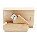 tanie Pamięć flash USB-Mrówki 32 GB Pamięć flash USB dysk USB USB 2.0 Drewno / Bambus Obrotowy