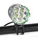 povoljno Svjetla za bicikle-Prednje svjetlo za bicikl / Svjetlo za bicikle LED Svjetla za bicikle LED Biciklizam Profesionalna, Anti-Shock, Jednostavno za nošenje punjiva baterija 8000 lm Prirodno bijelo Kampiranje