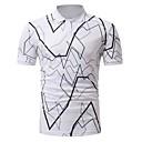 tanie Adidasy męskie-Puszysta Polo Męskie Podstawowy Geometric Shape / Krótki rękaw