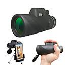 billige Monokulære kikkerter, kikkerter og teleskoper-40 X 60 mm Monokulær Sort Camping / Vandring / Grotte Udforskning / Rejse / Ja