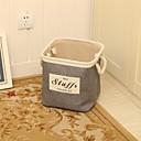 preiswerte Dekorative Kissen-Baumwolle / Stoffe Rechteck Neues Design / Cool Zuhause Organisation, 1pc Aufbewahrungs Körbe / Schrankordner / Schreibtischzubehör