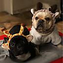 preiswerte Kuchenbackformen-Nagetiere / Hunde / Hasen Bögen Hundekleidung Solide Rosa / Weiß / Schwarz / Khaki Polar-Fleece Kostüm Für Haustiere Sport und Freizeit / Kopfbedeckungen
