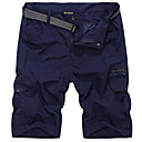 cheap Women's Flats-Men's Street chic Shorts Pants - Solid Colored Navy Blue