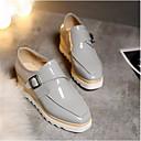 povoljno Ženske sandale-Žene Cipele PU Proljeće ljeto Udobne cipele Sneakers Creepersice Crn / Pink / Sive boje