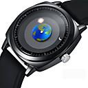 baratos Relógio Elegante-Homens Relógio Elegante / Relógio de Pulso Japanês Criativo / Legal Silicone Banda Casual / Fashion Preta / Aço Inoxidável / Sony 377