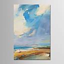 ieftine Picturi în Ulei-Hang-pictate pictură în ulei Pictat manual - Abstract / Peisaj Modern pânză