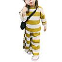 ieftine Set Îmbrăcăminte Bebeluși-Bebelus Fete Șic Stradă Dungi Manșon Lung Set Îmbrăcăminte / Copil