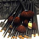 billige Sminkebørstesett-32pcs Makeup børster Profesjonell Geitehår børste Økovennlig / Profesjonell / Myk Tre / Bambus