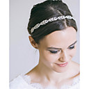 cheap Party Headpieces-Alloy Headbands / Headpiece with Crystal / Rhinestone 1 Piece Wedding / Special Occasion Headpiece
