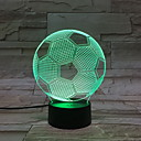 tanie Żarówki LED Świeczki-1szt 3D Nightlight USB Rysunek / Urocza / Nowy design <5 V