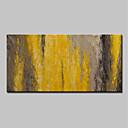 povoljno Apstraktno slikarstvo-Hang oslikana uljanim bojama Ručno oslikana - Sažetak Pop art Moderna Bez unutrašnje Frame / Valjani platno