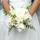 """baratos Bouquets de Noiva-Bouquets de Noiva Buquês Casamento / Ocasião Especial Poliéster 7.87""""(Aprox.20cm)"""