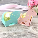 cheap Party Supplies-Favor Boxes Pearl Paper 50 pcs Baby Shower / Fairytale Theme