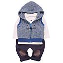 ieftine Set Îmbrăcăminte Băieți Bebeluși-Bebelus Băieți Bloc Culoare Manșon Lung Set Îmbrăcăminte