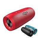 זול רמקולים-S16 חוץ Bluetooth 4.2 3.5mm AUX / USB / חריץ לכרטיס TF רמקול לשימוש חיצוני שחור / אדום / כחול