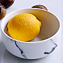 baratos Acessórios de Limpeza de Cozinha-1 Pça. Porcelana / Cerâmica Novo Design / Heatproof / Criativo Saladeiras e Tigelas / Taças / Tigelas e Bebedouros, louça