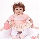 povoljno Lutkice-FeelWind Autentične bebe Za ženske bebe 16 inch vjeran Uvučene i zapečene nokte Umjetna implantacija Smeđe oči Dječjom Djevojčice Igračke za kućne ljubimce Poklon