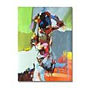 ieftine Picturi în Ulei-Hang-pictate pictură în ulei Pictat manual - Abstract Contemporan / Modern pânză