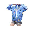 billige Kostumer for Voksne-Trykt mønster, Dame Ensfarvet / Geometrisk Jakke