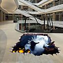 ieftine Acțibilde de Perete-Etichete autocolante - 3D Acțibilduri de Perete Halloween / #D Sufragerie / Dormitor / Baie