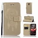 ieftine Cazuri telefon & Protectoare Ecran-Maska Pentru Nokia Nokia 3.1 Portofel / Titluar Card / Cu Stand Carcasă Telefon Bufniţă Greu PU piele pentru Nokia 3.1