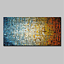 cheap Landscape Paintings-Oil Painting Hand Painted - Abstract Modern Canvas