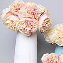 ieftine Flor Artificiales-Flori artificiale 5 ramură Clasic Nuntă / European Bujori Față de masă flori