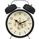 זול שעונים מעוררים-שעון מעורר אנלוגי פלסטיק קווארץ 1 pcs