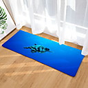 cheap Rugs-Doormats Geometric Pattern Flannelette, Rectangular Superior Quality Rug