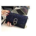 cheap Clutches & Evening Bags-Women's Bags PU(Polyurethane) Clutch Glitter Black / Blushing Pink / Light Grey