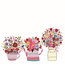 tanie Naklejki ścienne-Folie okienne i naklejki Dekoracja Zwyczajny Kwiat Polichlorek winylu Naklejka okienna