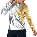 baratos Conjuntos de Bijuteria-Homens Camiseta Básico / Punk & Góticas Estampa Colorida