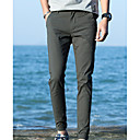 cheap Men's Sneakers-men's cotton slim chinos pants - solid colored