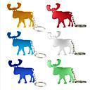 billige Corkscrews & Openers-alaska elg formet gevirer flaskeåpner metall nøkkelring souvenir