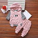 ieftine Pantaloni Băieți-Bebelus Băieți Dungi / Geometric Manșon Lung Set Îmbrăcăminte
