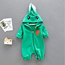 ieftine Set Îmbrăcăminte Băieți Bebeluși-Bebelus Băieți De Bază Imprimeu Manșon Lung Bumbac O - piesă Trifoi 90