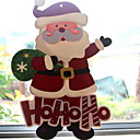 cheap Holiday Party Decorations-Christmas Ornaments Holiday PVC Square Novelty Christmas Decoration